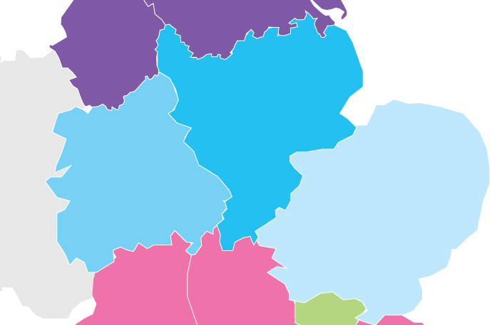 Interactive Map Of England.Healthcare Professionals Learning Network New Interactive Map